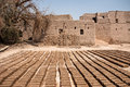 Historic Adobe Houses In Oman Royalty Free Stock Image - 34410336