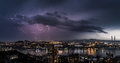 Lightning Storm. Royalty Free Stock Images - 34410619