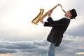 Saxophonist Stock Images - 34413654