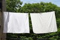 Clothes Line Royalty Free Stock Photo - 34433095