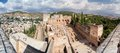 Panorama Of The Alhambra Royalty Free Stock Image - 34433896