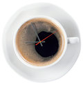 Coffee And Time Royalty Free Stock Images - 34445299
