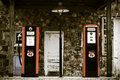 Vintage Gas Station Royalty Free Stock Images - 34456839