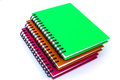 Stack Of Ring Binder Book Royalty Free Stock Photo - 34492385