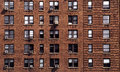 New York Block Of Flats Stock Photo - 3455000