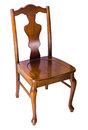 Old Wooden Chair, Vintage Style Royalty Free Stock Image - 34519446