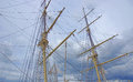 Masts, Rigging And Yardarms Stock Photos - 34536963
