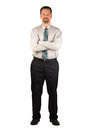 Corporate Man Standing Strong Stock Photography - 34565072