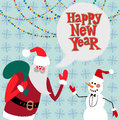 New Year Greeting Card Concept. Stock Photo - 34584430