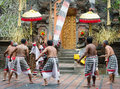 Traditional Classical Barong Theatre Show On Bali Royalty Free Stock Images - 34586089