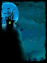 Spooky Halloween Composition. EPS 10 Royalty Free Stock Photography - 34589587