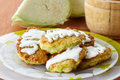 Vegetable Pancakes With Cabbage Stock Image - 34594701