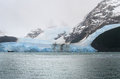 Glacier Seen From The Lake Stock Photography - 34597732