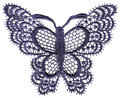 Lace Butterfly Royalty Free Stock Photos - 3468118