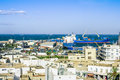 View From The Heights Over The Port  Of Sousse Tunisia Stock Photo - 34605320