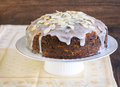 Carrot Cake Royalty Free Stock Photography - 34652357