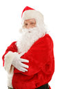 Portrait Of Happy Santa Claus Royalty Free Stock Images - 34653709
