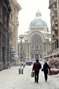 CEC Bank, Bucharest - Winter Time Royalty Free Stock Photos - 34656858