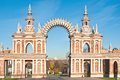 The Arch In Tsaritsyno, Moscow Royalty Free Stock Photos - 34669168
