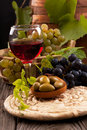Grapes And Wine Royalty Free Stock Image - 34669526