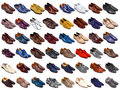 Male Shoes Collection Royalty Free Stock Photo - 34685345