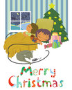 Christmas Card Stock Images - 34686124