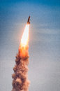 Launch Of Atlantis-STS-135 Stock Photography - 34689362