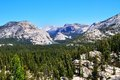 Wide Angle Photography In Yosemite National Park, With Mountains Stock Image - 34696881