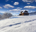 Old House In Carpathian Mountain Village Stock Photography - 34701502