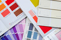 Color Fan Chart, Book, Catalog And Card For House Paint Royalty Free Stock Photo - 34705995