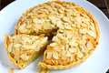 Almond Tart Royalty Free Stock Photography - 34714867