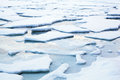 Ice Flow Winter Landscape Stock Photography - 34715102