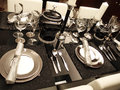 Dining Table Royalty Free Stock Photos - 34716798