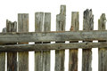 Old Rotten Fence Of Pine Boards Stock Photography - 34717512
