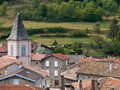 French Rural Village Royalty Free Stock Photo - 34717995