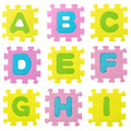Alphabet Puzzle Stock Photo - 34719680