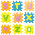 Alphabet Puzzle Royalty Free Stock Image - 34719976