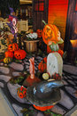 Halloween Decoration In Shopping Center Stock Images - 34726114