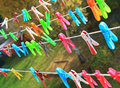 Clothes Pegs Stock Photo - 34729780
