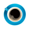 Blue Coffee Cup Stock Photos - 34739423