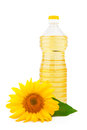 Oil And Sunflower Royalty Free Stock Photos - 34741418