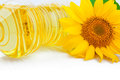 Oil And Sunflower Stock Photo - 34741420