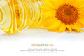 Oil And Sunflower Stock Photo - 34741440