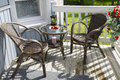 Cozy Terrace Of Country House Stock Image - 34748051