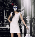 Day Of The Dead Girl Stock Photography - 34749222