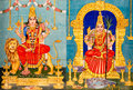 Traditional Hindu Gods Painted Images Royalty Free Stock Images - 34762159