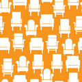 Icons Of Furniture On Seamless Pattern Royalty Free Stock Photo - 34782775
