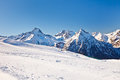 Ski Resort In French Alps Royalty Free Stock Photography - 34789007
