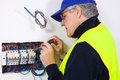 Electrician At Work Stock Photography - 34798322