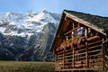 Mountain Village House Royalty Free Stock Images - 3483109